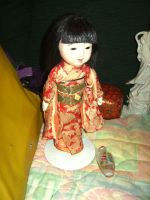japanese vintage doll by curlytopsan