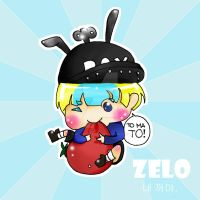 Zelo and tomato by helloThar-BOO