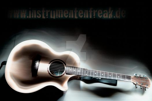 light guitar by Instrumentenfreak