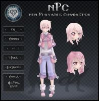 Pocket-Hearts NPC App. Eri by ChuuSan