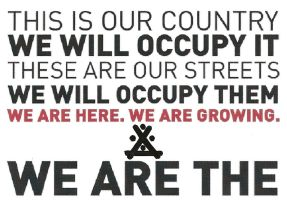 Occupy movement by BraboAnarcho