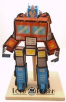 Transformer Cross Stitch Robot by LordLibidan