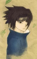 Sasuke Uchiha - color by Reminiscent08