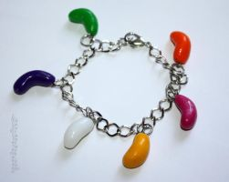 Jelly Bean Bracelet by claremanson