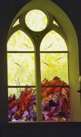 Church window 1 by bluesgrass