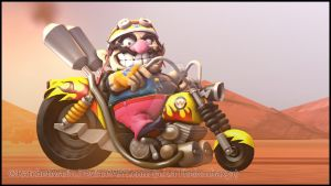 SFM - Wario Go by RatchetMario