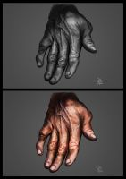 hand study by absinthe-girl