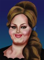 Adele by jEROMEaNIMATIONS