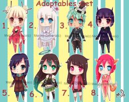 Adoptable's Set (OPEN) by MelodyDenaria