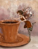 Coffee Fairy by Lydia888