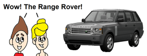 Jimmy and Cindy Impressed by the Rover by mjeddy