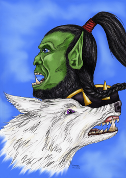 Thrall and Snowsong by Irsibil