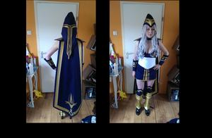 ashe cosplay  almost done by lilidot