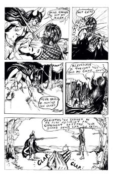 Page 2 of SIN Black and White Inks by Deathly-Comics