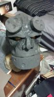 Hellboy Costume 2 *commision edition* Mask WIP by DJdrummer
