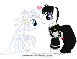MLP Serenity and Endymion by sweetangelookami