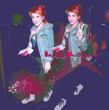 Hayley Williams Blend 2 by WithRamona