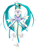 .: DL Series :. Redstone Kio Orbit Miku Hatsune by Duekko