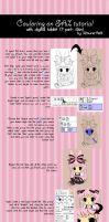 Coloring tutorial 1st part by Kitsune-Petit