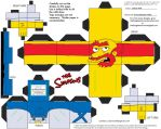 Simpsons5: Groundskeeper Willie Cubee by TheFlyingDachshund