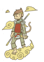 Sun Wukong by seph-hunter