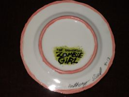 Zombie Girl Plate 05 Back by Gummibearboy