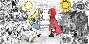 Alice meets Red Riding by xoXDeath-the-KidXox
