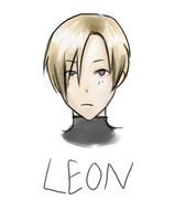 Leon RE4 scribble by F-you-see-kei