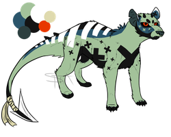 [SPECIAL] Anti-sona : OTA (CLOSED) by SwarThylacine-Adopts