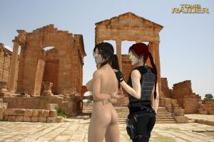 Tomb Raider - Naked Defeat by honkus2