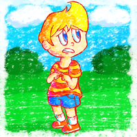 Crayon Lucas by Candy-Swirl