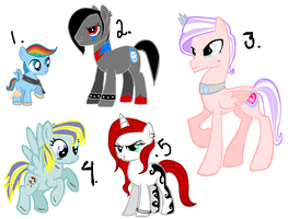 Custom MLP ( 1-6 ) by PinkPopcornWithSoda