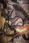 Attack on Ishgard by SophieArdon