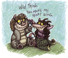 Just a couple of Wild Things by Kaaziel