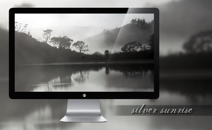 Silver Sunrise Wallpaper by miguelsanchez666