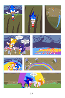 Sonic the Hedgehog the Comic pg 13 by bulgariansumo