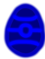 Blue Glow Egg - P.A by Harry-Potter-Addict