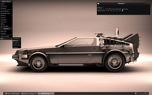 Arch Linux - like a DeLorean by luishenriique