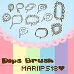 DipsBrush ByMariiPs18 by MariiPs18