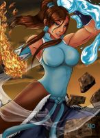 Commission: Korra by 7caco