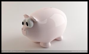 piggy bank by diegoreales