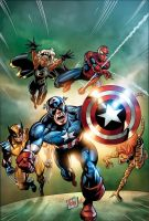 Marvel Adventures Avengers 30 by ulises-arreola