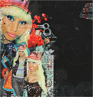 nicki minaj blend 55 by nikito0o
