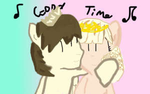 Prince Whateverer and DreamChan by saloony78