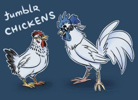 Chickens by Kethavel