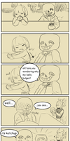 Why San's Belly Bulges Despite Being a Skeleton! by YukiraNine