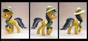 Daring Do 3D Printed Figure by Clawed-Nyasu