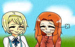 Aisling and Katyusha by APH-RepblicOfIreland