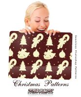 Christmas patterns by PeterPlastic