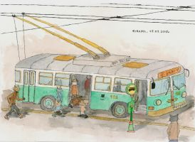 Trolleybus by mikopol